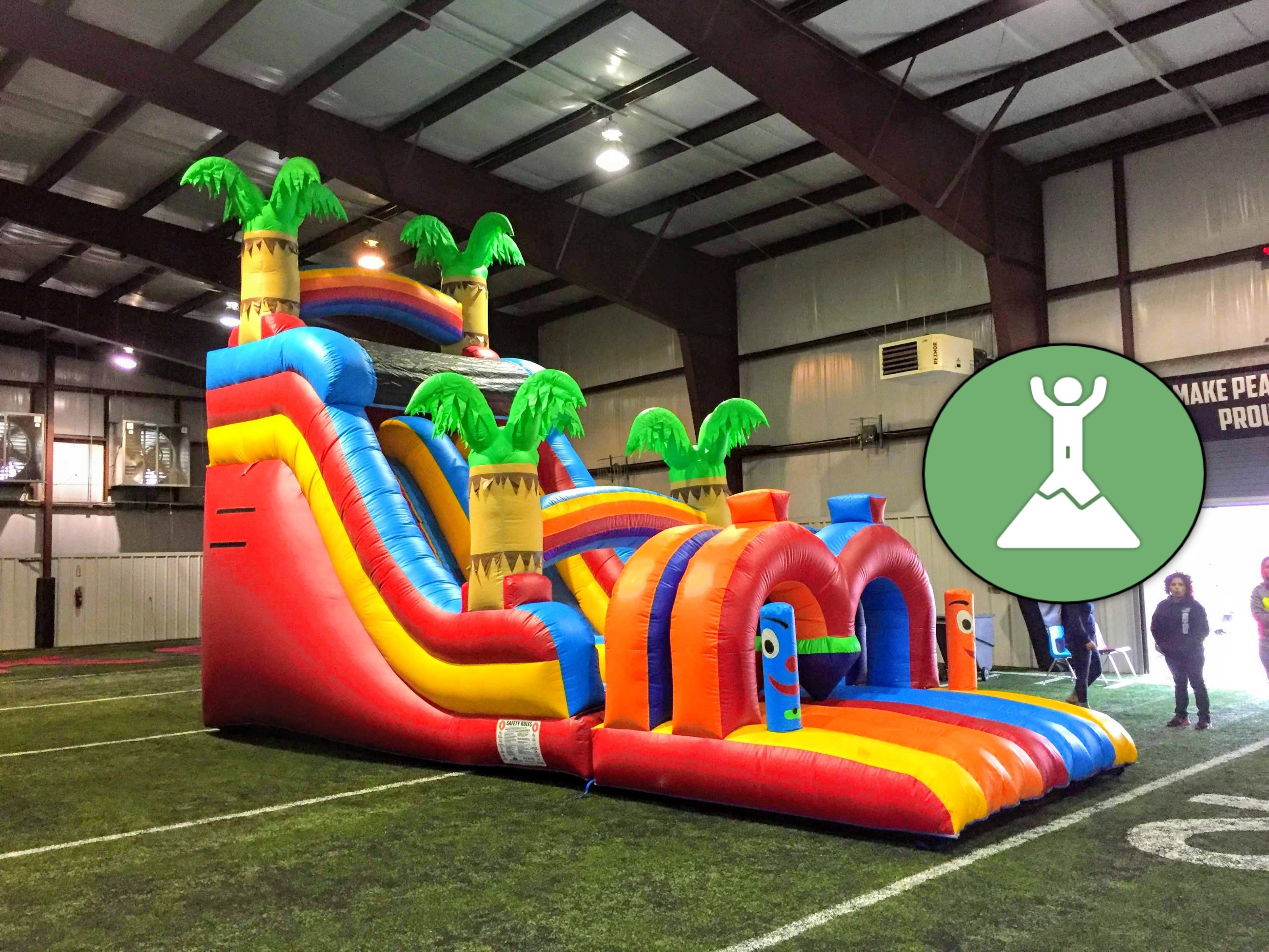 huge inflatable slides northwest arkansas bounce houses